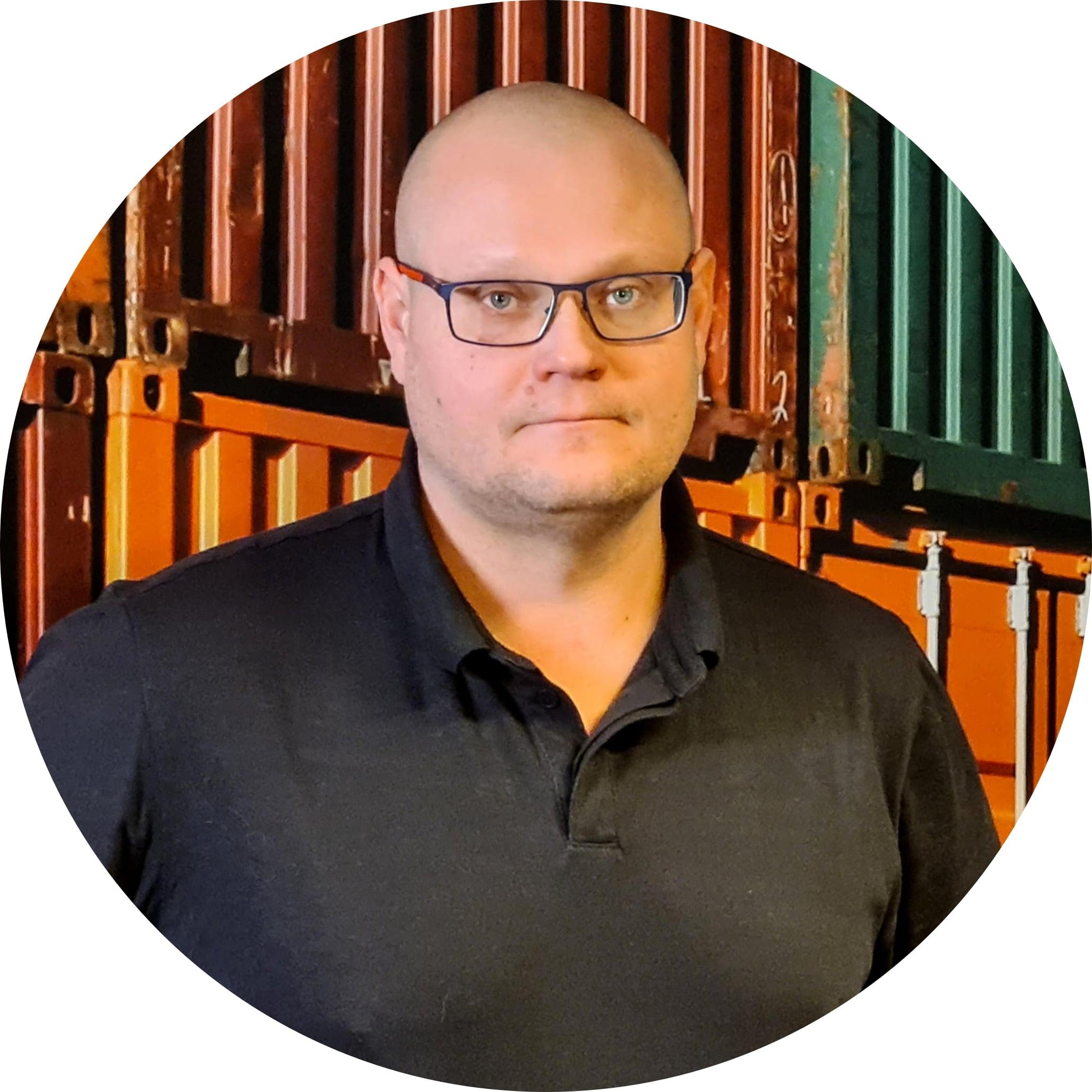 Tero Pylvänen Varastopäällikkö Lappeenranta