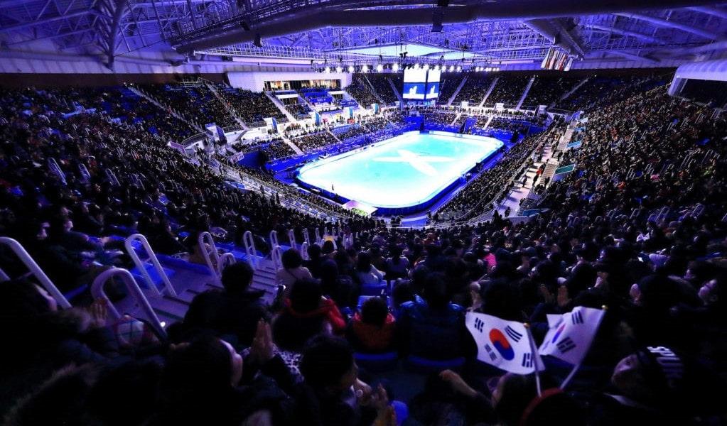 Gangneung Ice Arena taitoluistelu