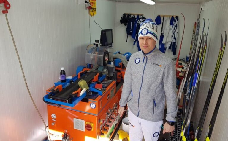 Suomen Olympia hiihtokontti