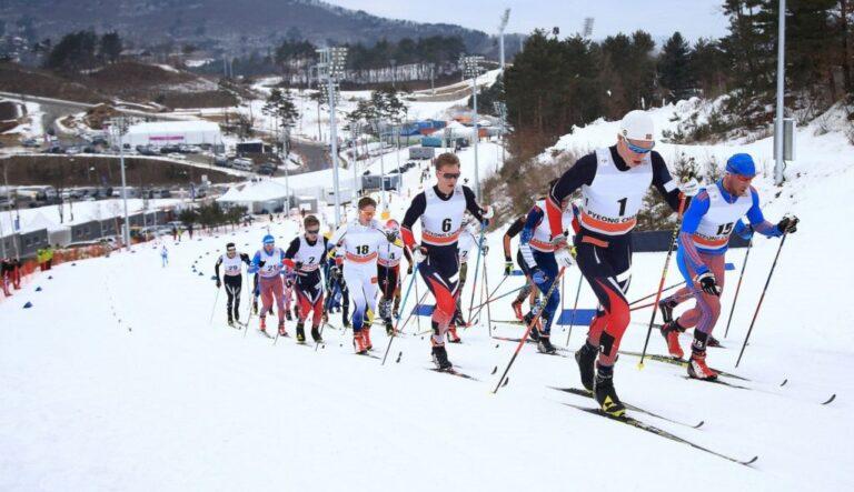 Olympiajoukkue hiihtää Pyeong Changissa