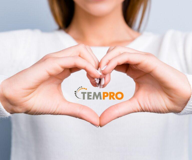 Tempro logo kuva - vuokratyöntekijän sopimus